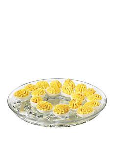Libbey Selene Egg Plate