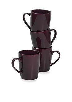 Home Accents 4PK MUG-PURPLE