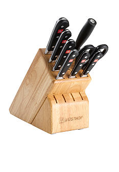 Wusthof Classic 9 pc Knife Block Set