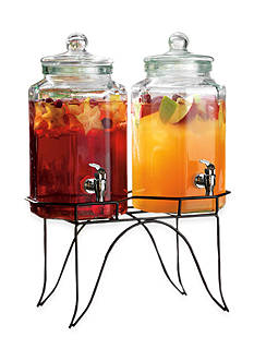 Home Essentials Double Beverage Dispenser