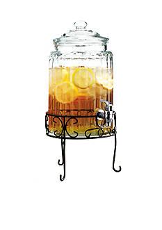 Home Essentials Ribbed Beverage Dispenser