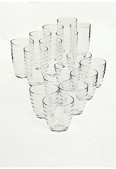 Home Accents Metro Keen 16-piece Drinkware Set