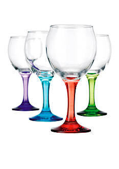 Home Essentials Carnival Balloon Glasses Set of 4
