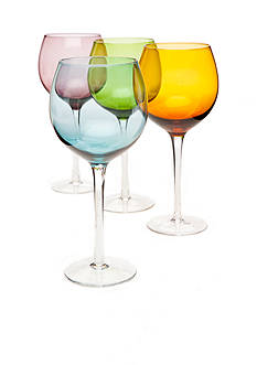 Home Essentials Tuscana Set Of 4 Goblets