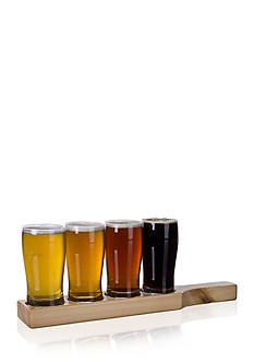 Home Essentials Beer Den Pilsner Plank Flight