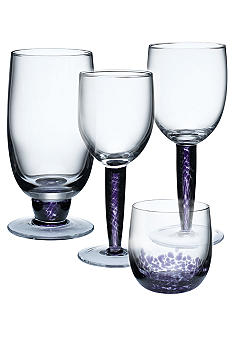Denby Amethyst Set of 2 Stemware Collection