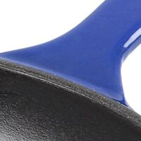 Skillets and Frying Pans: Imperial Blue Denby COOK & DINE BLACK CAST IRON OMELETTE PAN