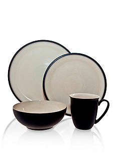 Denby Dine Black 4-Piece Place Setting - Online Only