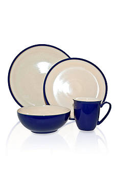 Denby Dine Royal Blue 4-Piece Place Setting - Online Only