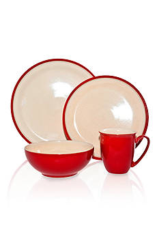 Denby Dine Cherry 4-Piece Place Setting - Online Only