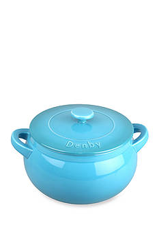 Denby Cook & Dine Oven to Table 3-qt. Covered Curved Casserole