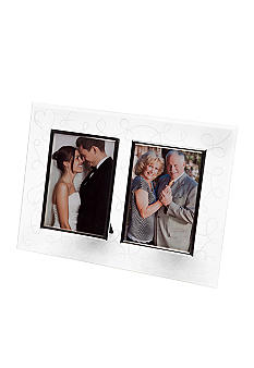 Mikasa Love Story Crystal Double Invitation Frame