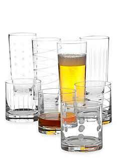 Mikasa Cheers Set of 8 Double Old Fashions and Highballs