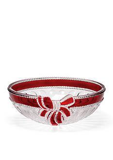 Mikasa Ruby Ribbon Hostess Bowl