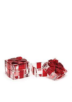 Mikasa Holiday Treats Set of 2 Gift Boxes