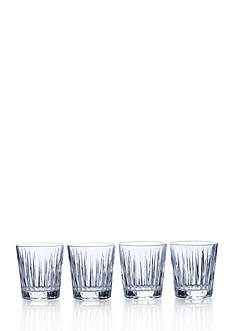 Mikasa Living Revel Double Old Fashioned Set Of 4, 12-oz.