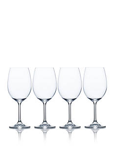 Mikasa Laura Set of 4 White Wine Glasses