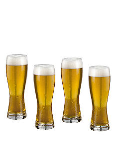 Mikasa Brewmaster's Set of 4 Wheat Glasses