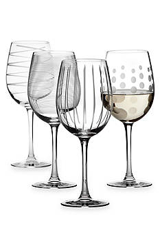 Mikasa Cheers Set of 4 Wine Glasses