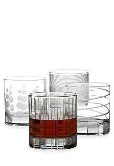 Mikasa Cheers Set of 4 Double Old Fashioned