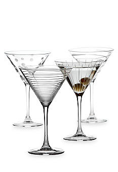 Mikasa Cheers Set of 4 Martinis