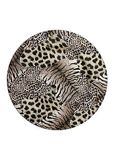 Jay Import Cheetah Print Charger