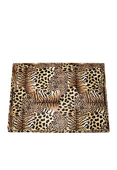 Animal Patch Leather Tray
