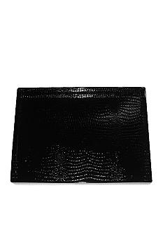 Jay Import Black Alligator Tray
