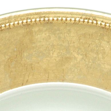 Jay Import Dining & Entertaining: Gold Jay Import Silver Rim Charger