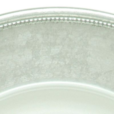 Fine China: Silver Jay Import Silver Rim Charger