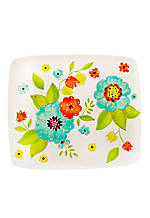Kelley Floral Rectangular Platter