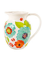 Kelley Floral Pitcher