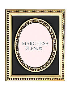 Marchesa by Lenox Mandarin Gold 2.5x3 Oval Frame - Online Only