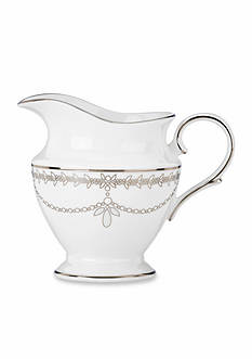 Marchesa by Lenox Empire Pearl White Creamer