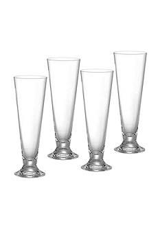 Marquis by Waterford Vintage Set of 4 Pilsner Glasses