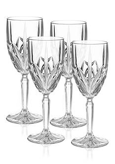 Marquis by Waterford Brookside Set of 4 Wine Glasses