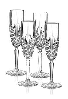 Marquis by Waterford Brookside Set of 4 Flutes