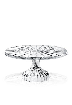 Marquis by Waterford Bezel Footed Cake Plate