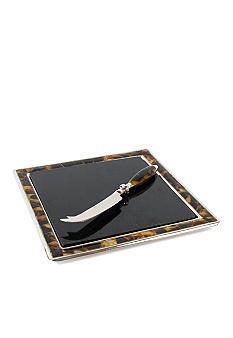 Lauren Ralph Lauren Home Wentworth Tortoise Cheese Board & Knife