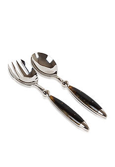 Lauren Ralph Lauren Home Wentworth Tortoise Set of 2 Salad Servers