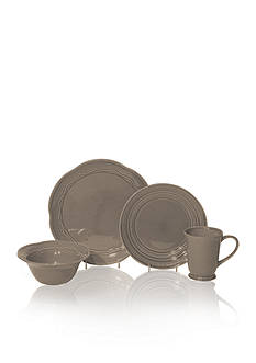 Baum Brothers Adorn Stone 16-Piece Dinnerware Set