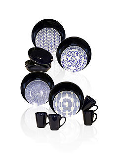 Baum Brothers Blue and White 16-piece Set