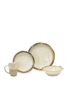 Baum Brothers Ripple 16-Piece Dinerware Set - Online Only