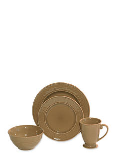 Baum Brothers Wellington 16-Piece Dinnerware Set - Online Only