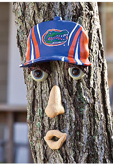 Evergreen Florida Gators Tree Face