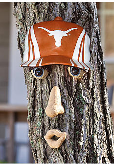 Evergreen Texas Longhorns Tree Face