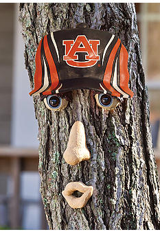 Evergreen Auburn Tigers Tree Face