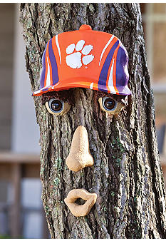 Evergreen Clemson Tigers Tree Face