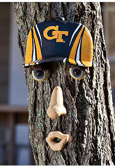 Evergreen Georgia Tech Yellow Jackets Tree Face