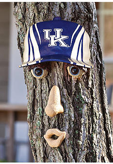 Evergreen Kentucky Wildcats Tree Face